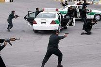 درگیری مسلحانه ماموران انتظامی با اشرار مسلح در شهرستان جاسک