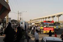 استقرار ۳۰ دستگاه اتوبوس برای انتقال زائرین در پارکسوار شمالی