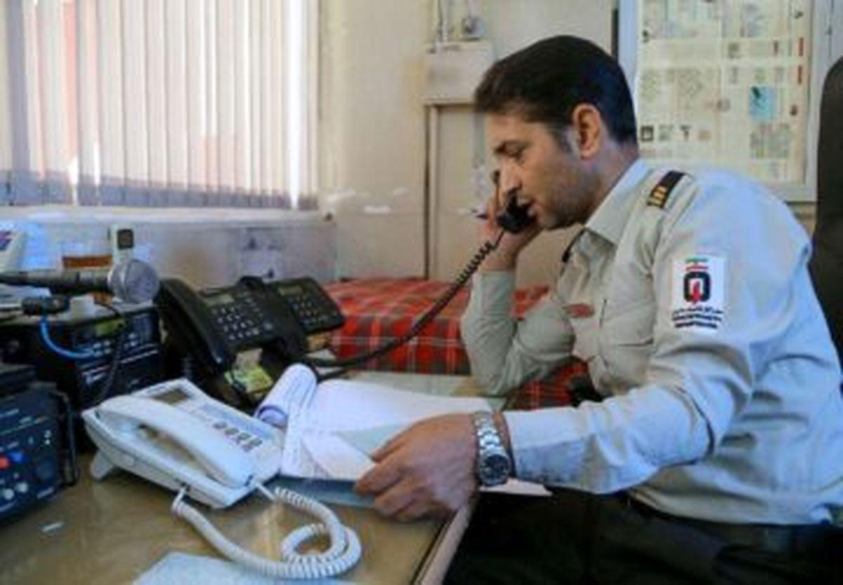 تعداد ۷ هزار تماس تلفنی مزاحمی به آتشنشانی مشهد در ۷ روز