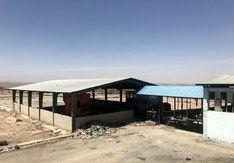 کارخانه کمپوست شهرداری یزد زباله دانی شد