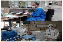 بهبودی کامل یک پیرمرد 98 ساله مبتلا به کرونا در شهرستان آران و بیدگل
