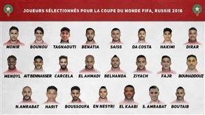 فهرست نهایی مراکش برای جام جهانی معرفی شد