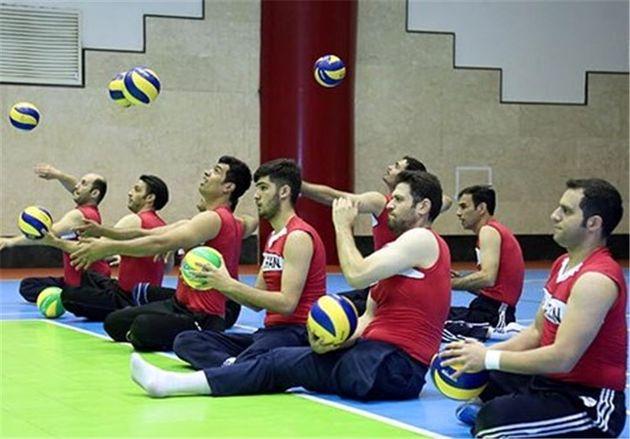 برنامه اردوهای ملیپوشان والیبال نشسته تا پارالمپیک ۲۰۱۶