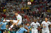 نتیجه بازی پرتغال و اروگوئه در جام جهانی/ اروگوئه به یک چهارم نهایی رسید