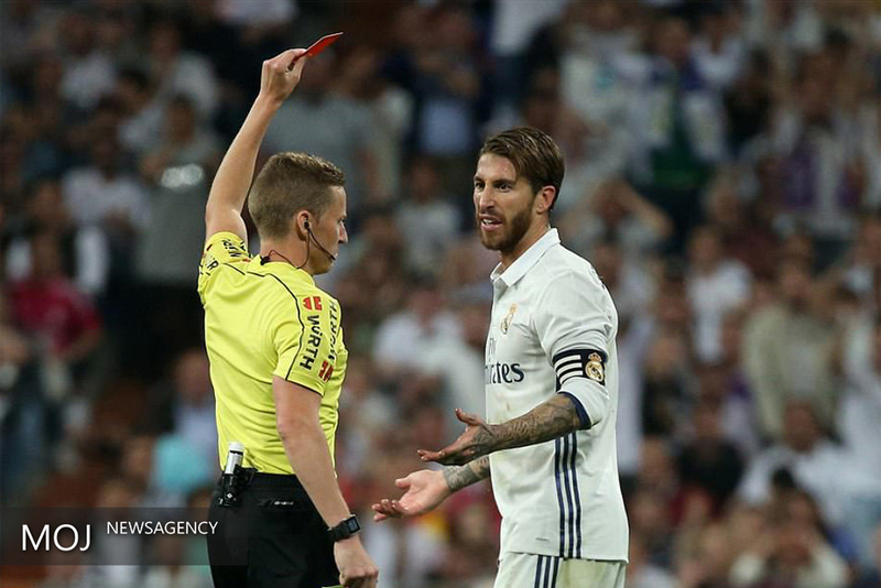 ثبت رکورد منفی خشنترین بازیکن تاریخ لیگ قهرمانان اروپا به نام سرخیو راموس