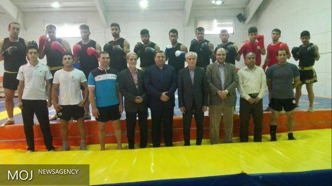 معاون توسعه ورزش قهرمانی و حرفهای از اردوی تیم ملی ووشو بازدید کرد