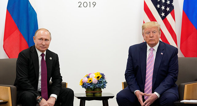 تمجید ترامپ از همتای روس خود