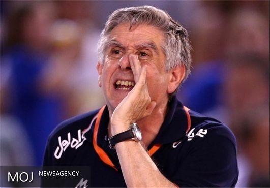 مشکل تیم ملی والیبال تغییر ساعت است