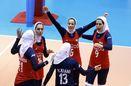 دیوار چین نخستین سد دختران والیبالیست ایران در آسیا
