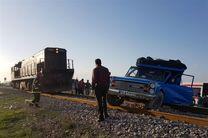 خروج قطار اهواز-قم از ریل تکذیب شد
