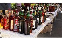 بیش از 180 لیتر انواع مشروبات الکی در دزفول کشف شد
