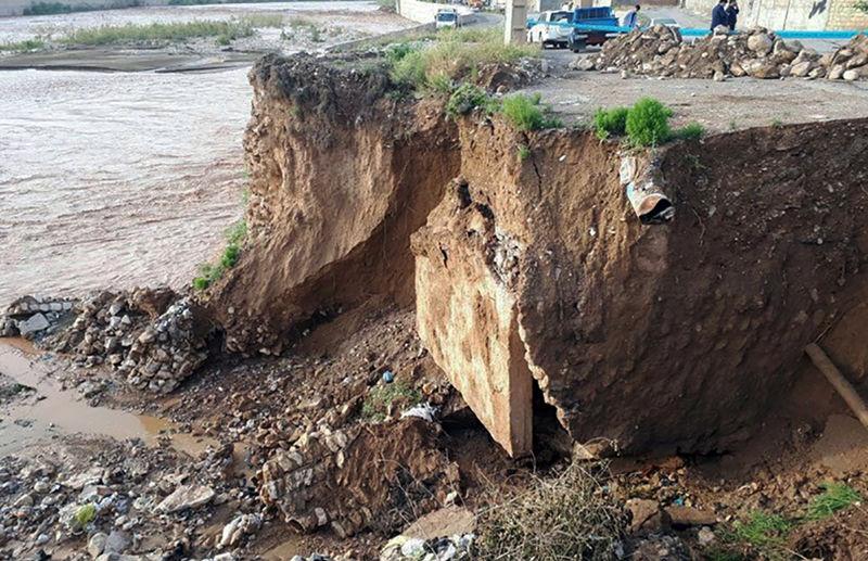 بازسازی موقت محور خرمآباد به پلدختر