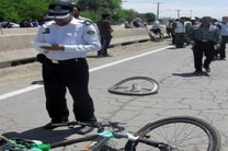بیاحتیاطی راننده کامیون جان دوچرخه سوار 12ساله را گرفت