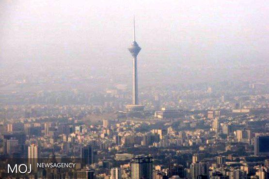 آلودگی هوای پایتخت برای سومین روز متوالی / اعلام آلوده ترین مناطق پایتخت