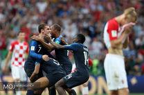 بهترین بازیکن کرواسی و فرانسه انتخاب شد