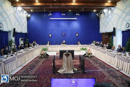 جلسه هیات دولت - ۱۸ تیر ۱۳۹۹
