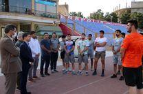 بازدید منعم از اردوی تیم ملی کشتی در قم