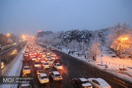 تهران برفی