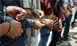 دستگیری 20 متهم تحت تعقیب مراجع قضائی در تیران و کرون