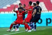 نتیجه بازی پرسپولیس و نساجی/ بازگشت شاگردان گل محمدی به صدر جدول
