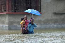 باران های موسمی در هند ۳۲ کشته برجا گذاشت