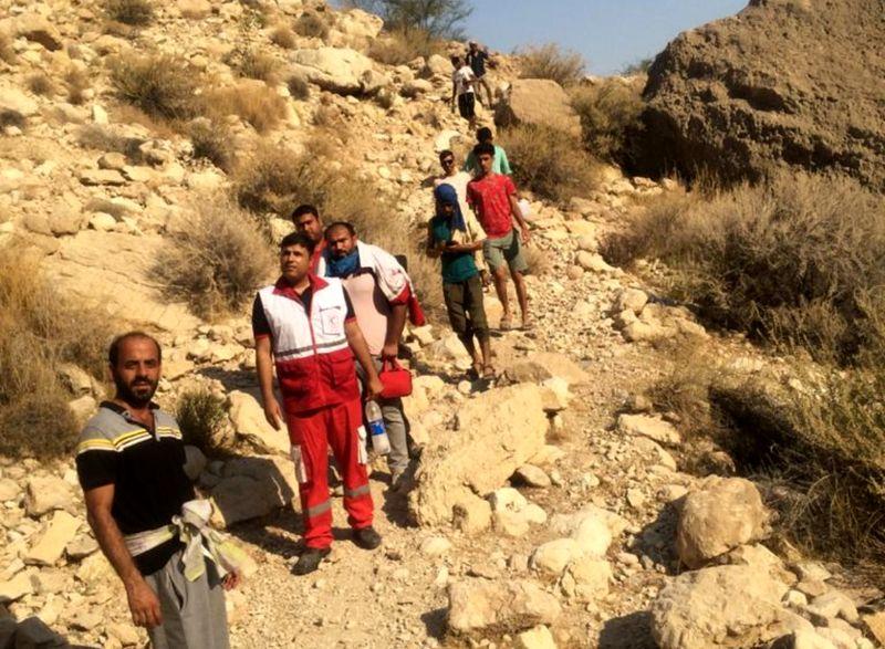 امدادرسانی هلال احمر به ۴ گمشده ارتفاعات بندرخمیر