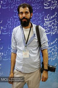 عکاسان و خبرنگاران حاضر در ستادثبت نام انتخابات کشور