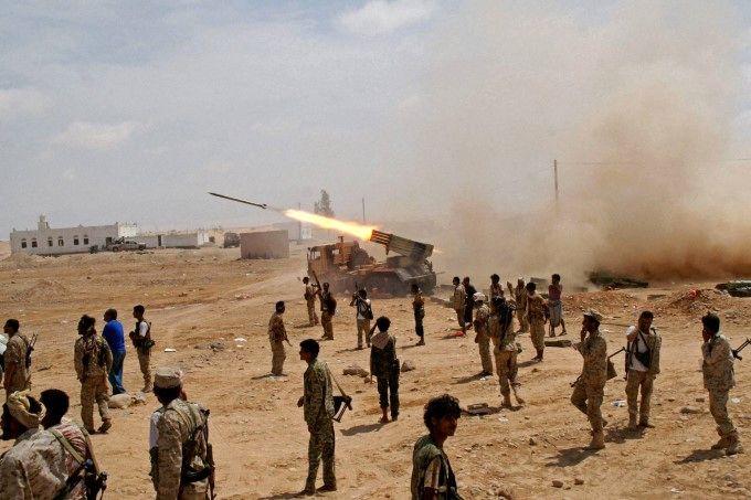 4 موشک یمن به محل استقرار مزدوران ائتلاف سعودی شلیک شد