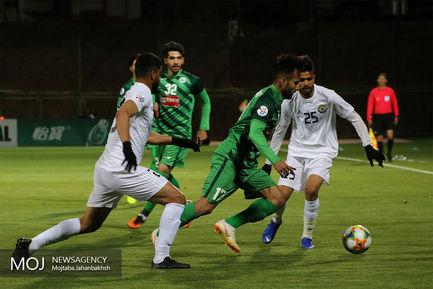 دیدار تیم های فوتبال ذوب آهن ایران و الزورا عراق