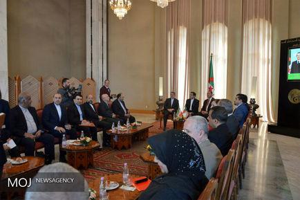 سفر وزیر ارشاد به الجزایر