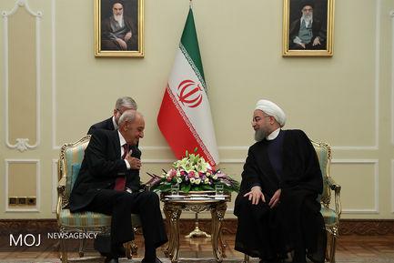 دیدار رییس جمهور با رییس مجلس لبنان