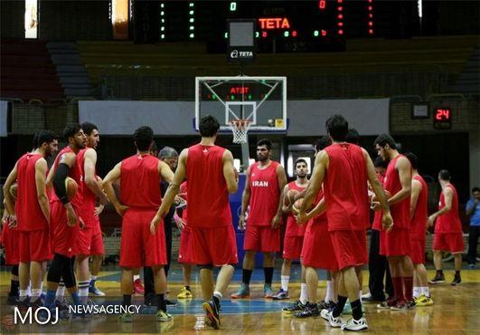 نخستین تمرین تیم ملی بسکتبال در ایتالیا برگزار شد