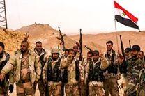 انهدام مواضع تروریست های داعش در حومه دیرالزور