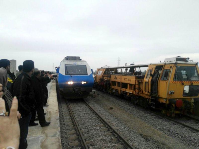 سوت قطار در ایستگاه رشت شنیده شد