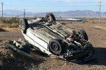 واژگونی خودرویی در محور بشاگرد 2 کشته و 5 زخمی برجای گذاشت