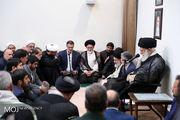 جمعی از مسئولان و دستاندرکاران حج با رهبر معظم انقلاب دیدار کردند
