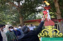 افتتاح پروژه گازرسانی به شهرک گلخانه ای و 9 واحد مرغداری در فریدن