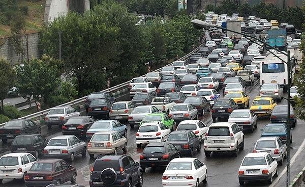 وضعیت ترافیکی تهران در 25 مرداد اعلام شد