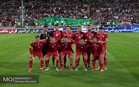 مسابقه فوتبال دوستانه تیم های ملی جمهوری اسلامی ایران و ازبکستان