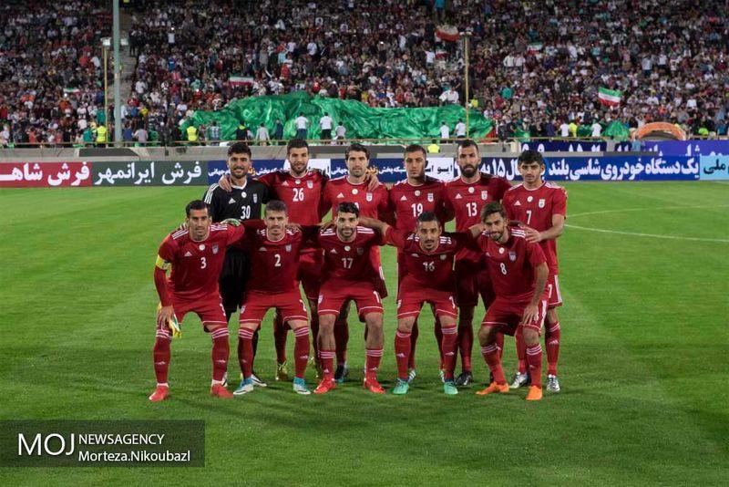 رنگ لباس تیم ملیفوتبال ایران مقابل اسپانیا مشخص شد