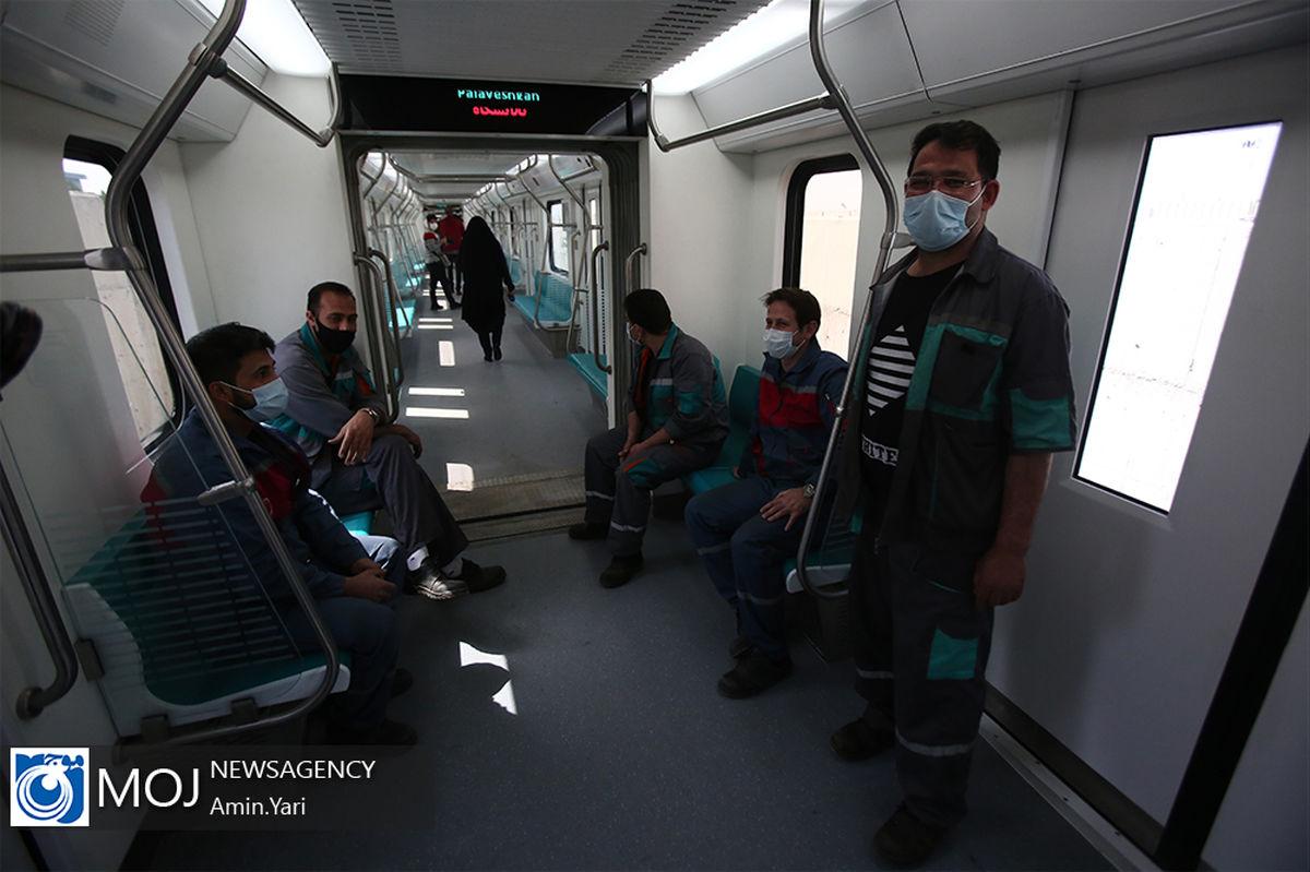 اعلام آمادگی مترو تهران برای طرح سراسری واکسیناسیون کرونا