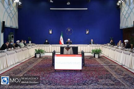 جلسه شورای عالی فضای مجازی با حضور سران قوا