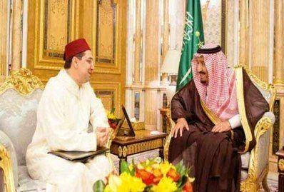 دیدار پادشاه عربستان با وزیر خارجه مراکش