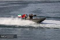نجات دو سرنشین یک فروند قایق صیادی