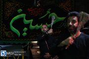 عزاداری شب عاشورای حسینی (ع) در محله اختیاریه