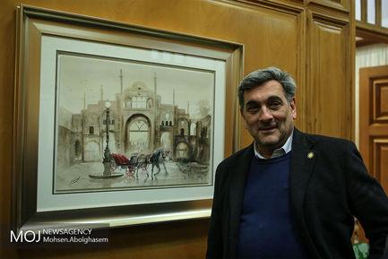 نشست+مشترک+شهرداران+تهران+پس+از+انقلاب+اسلامی (3)/حناچی شهردار تهران