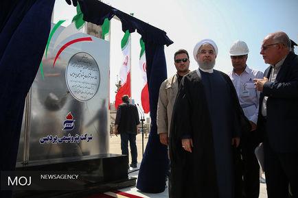 سفر رییس جمهوری به استان بوشهر