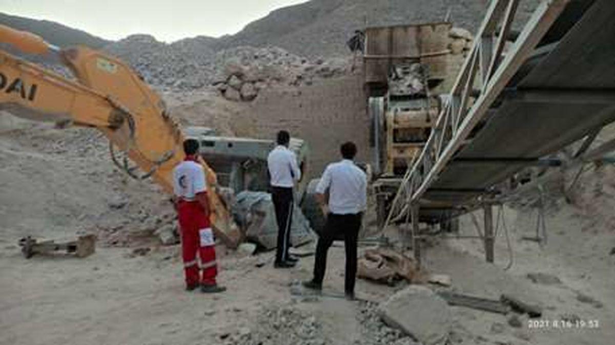 دومین خبر فوت کارگر معدن در یزد طی24 ساعت گذشته/فوت یک راننده لودر در معدن شن و ماسه میبد