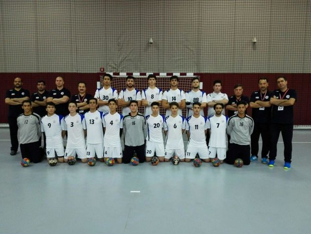 تیم ملی هندبال نوجوان ایران برابر عمان پیروز شد