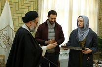 بانوی روسی به دین اسلام مشرف شد